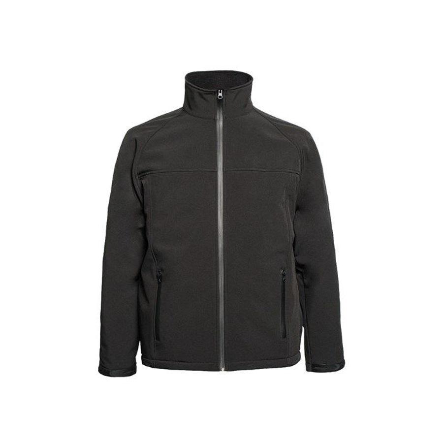 Slika LAC. Softshell jakna crna ROLAND