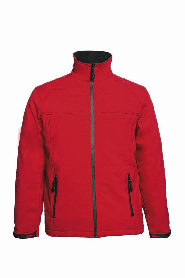 Slika LAC. Softshell jakna crvena ROLAND
