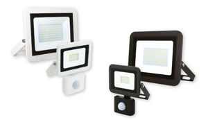 Slika COMMEL LED REFLEKTOR 30W 306-238 SMD, CRNI