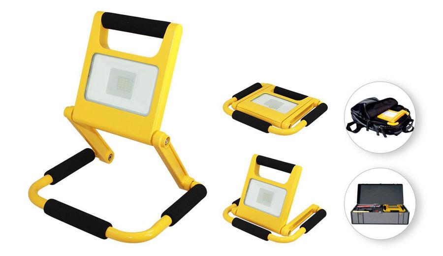 Slika COMMEL LED REFLEKTOR PUNJIVI 308-310 SLIM 10W