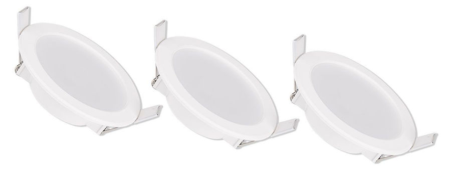 Slika COMMEL DOWNLIGHT 336-121 5W, 2700 K, PAK 3 KOM