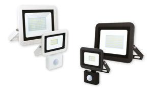 Slika COMMEL LED reflektor 10W 307-218,s detektorom pokreta, 6500 K CRNI