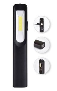 Slika COMMEL LED radna svjetiljka 401-020, 3W + 3W COB, 250 lm, magnetski držač, 7000 K, IP44, Lithium