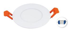 Slika COMMEL LED PANEL 3 W 337-121, OKRUGLI,  UGRADNI, 2700 K (TOPLO BIJELA BOJA SVJETLA)