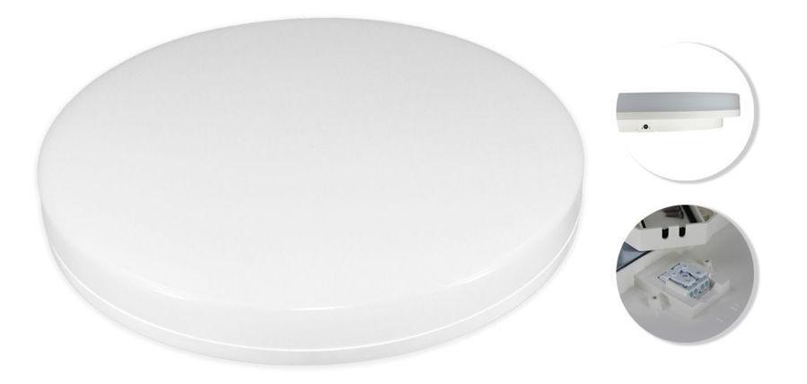 Slika COMMEL LED plafonjera 15W 407-101,okrugla, 4000 K (neutralno bijela boja svjetla), 1250 lm