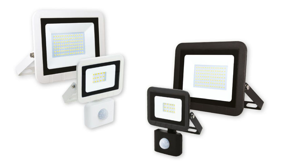 Slika COMMEL LED REFLEKTOR SMD 20W 306-228 ,CRNI