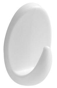 Slika VJEŠALICA PLASTIČNA MOD. 211 BIJELA 33 x 54 mm