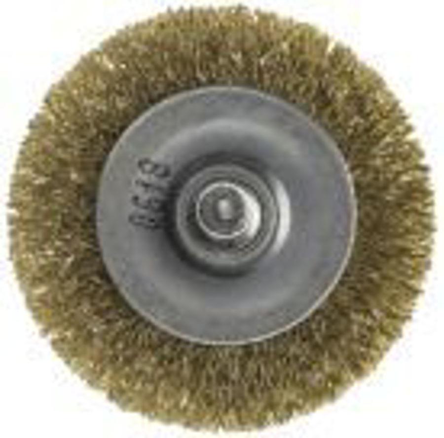 Slika ČETKA RAVNA  FI 75 mm (ZA BUŠILICU)