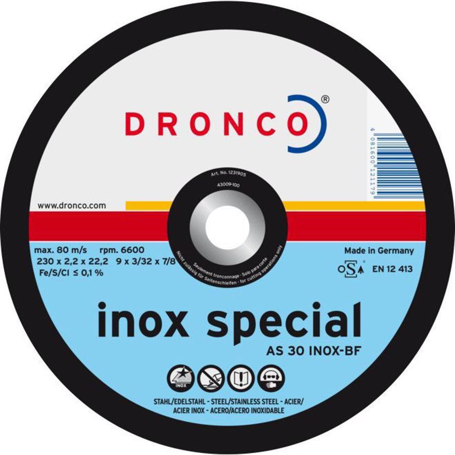 Slika REZNA PLOČA 125x1mmINOX SPEC/DRONCO